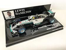 Lewis Hamilton 2016 1:43 Mercedes Amg W07 Minichamps Brazilian GP 410160644