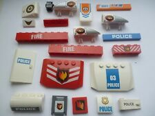 LEGO EMERGENCY SERVICES  SPARE PARTs    picture bricks  JOB LOT