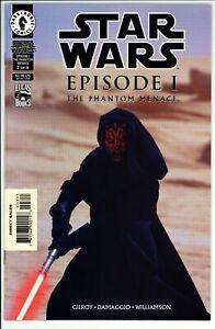 Star Wars: Episode 1 Phantom Menace #3 VF Darkhorse (1999) -1st Darth Maul Cover