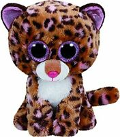 TY Beanie Boo Plush - Patches the Leopard 15cm