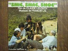 BOF SMIC SMAC SMOC 45 TOURS FRANCE FRANCIS LAI LELOUCH