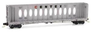 Micro Trains Centex TCAX 60' Thrall Centerbeam Flat Car Opera Style 53040