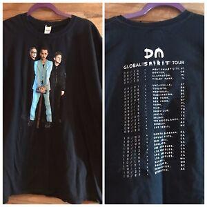 Depeche Mode DM Global Spirit Tour Shirt Men's XXL