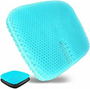 The 3rd Generation Gel Seat Cushion Pain Pressure Relief Office Car Wheelchair