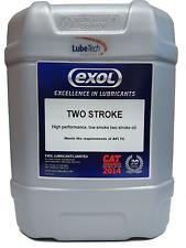 EXOL PREMIUM TWO STROKE OIL API TC JASO FB MINERAL 2 STROKE 20 LITRE