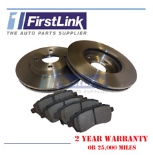 Ford Fiesta Mk7 2008-2018 Front Brake Discs Pads Full Set