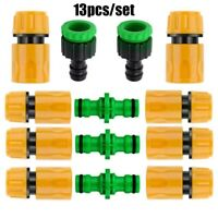 13Pcs Garden Hose Quick Connect Kit Pressure Washer Tap Adapter Connector Set