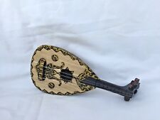 "Small Decoration Handmade Wooden Egyptian Oud Beautiful 7.5""X 3.5"""