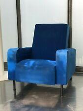 FAUTEUIL 1950 dlg de Pierre Guariche Airborne andre simard armchair design bleu