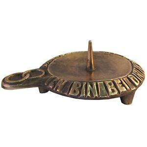Hochzeitskerzen Leuchter Ständer 14 cm * 11 cm Bronze   wedding candle holder