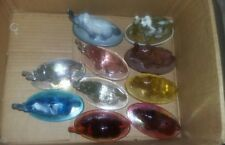 Lot of 10 Mosser Glass Bimbah the Elephant Glass Paperweights! Nice Lot!!