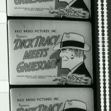 16mm Film DICK TRACY MEETS GRUESOME Boris Karloff Original Print  Exc. Condition