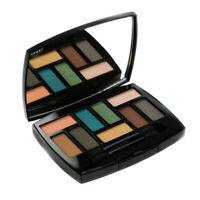 Chanel Eyeshadow Palette - Blue Pink Green Brown Gold Black Peach Grey Affresco