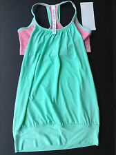 NWT Lululemon NO LIMITS Tank WEE ARE FROM SPACE Neon PINK OPAL (Size 12)