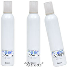 Energy Mousse Head.Way 3 x 300ml Biacrè ® TecnoForm Gel Effetto Bagnato Wet Eff.