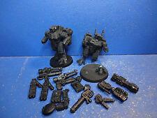 2 xv8 crisis battlesuits + mando el bitz Tau