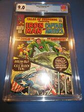 Tales of Suspense #62 Silver Age Key CGC 9.0 VFNM Origin of Mandarin Iron Man