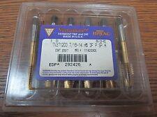 NEW VERMONT 7/16-14 TN3712C0  TAP VERTANIUM H5 3F P SP H 1114292426 G4B