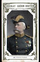 IMAGE CHOCOLAT GUERIN BOUTRON / Militaire GENERAL ROBERT à RODEZ & à LYON