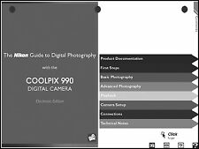 Nikon CoolPix 990 Digital Camera User Guide Instruction  Manual