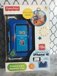 Fisher-Price Create and Learn Apptivity Case for iPhone, Boys, New, NIB