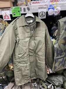 GENUINE ITALIAN ARMY SURPLUS PARKA JACKET WITH QUILTED LINER!!Check Description!