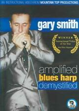 GARY SMITH - AMPLIFIED BLUES HARP DEMYSTIFIED NEW DVD
