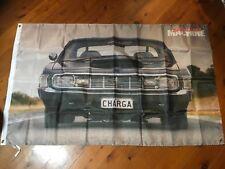 Banner poster man cave flag australian charger Chrysler valiant mopar ford gmh