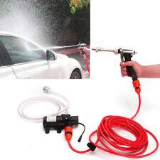 Portable 12V Car High Pressure Washer Water Pump Kit Jet Wash Cleaner Hose UK