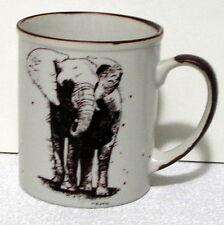 Elephant San Diego Zoo Coffee Mug Wild Animal Park signed