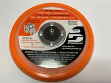 "Dynabrade 56107 6"" Non-Vac Disc Pad Vinyl-Face 3/8"" Thickness 21035 59025 59025"