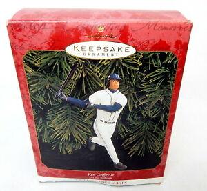 1T Hallmark Keepsake Ornament Ken Griffey Jr. At The Ballpark Figure Boxed