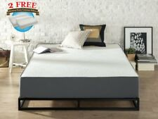 """12"""" Inch Cool Gel Memory Foam Mattress, Bed, King Size with 2 Free Pillows VIP"""