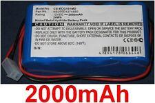 Batterie 2000mAh Pour Contec ECG-101 type NS200D1374850