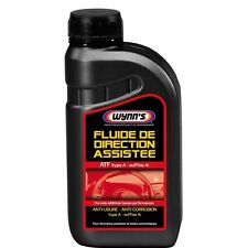 FLUIDE DE DIRECTION ASSISTEE VOITURE AUTO TYPE ATF 500 ML WYNN'S anti usure