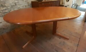 Vintage D Scan Danish Mid Century Extending Dining Table Top Condition Deliver