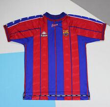 Vintage 1997 - 1998  Barcelona Home Football Shirt Jersey (size M)