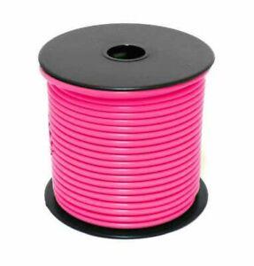 USA 100ft  20awg 20ga Copper Pink M16878/14BGB-9 600v Stranded Wire Hook UP L5