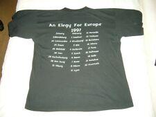 AMORPHIS – very rare original 1997 EUROPE TOUR T-Shirt!!! dark death metal