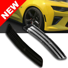 2014+ Cadillac CTS Front Bumper LED Side Marker Light - Clear/Black/White
