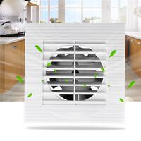 "12W 4"" Quiet Ceiling Wall Mount Air Exhaust Fan Blower Window Kitchen"