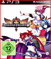 PS3 NUOVO / ORIGINALE ARCANA CUORE 3 Beat M Up Mit 23 kämpferinen TEDESCO