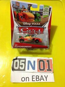 Disney Pixar Cars RIP CLUTCHGONESKI WGP Racer F1 Race Toy New Diecast (FB02)