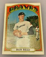 1972 Topps Baseball Card Ron Reed # 787