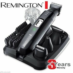 Remington Rechargeable Mens Body Hair Beard Clipper Trimmer Shaver Grooming Kit