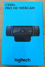 🔥Logitech C920x Pro 🔥 HD Webcam - Black SHIPS TODAY 🚚🚚 FREE SHIPPING