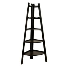 Danya B Five Tier Corner Ladder Display Bookshelf - BQ0279