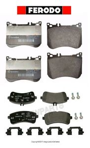 For Mercedes W222 Maybach S550 S550e C217 Front & Rear Brake Pad Set Ferodo