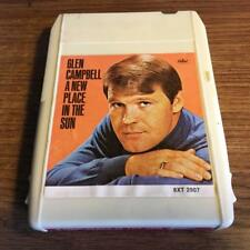GLEN CAMPBELL A NEW PLACE IN THE SUN RARE 8 TRACK TAPE TESTED LATE NITE BARGAIN!