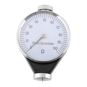 Shore Type D Rubber Tire Durometer Hardness Tester Meter 0-100 degrees